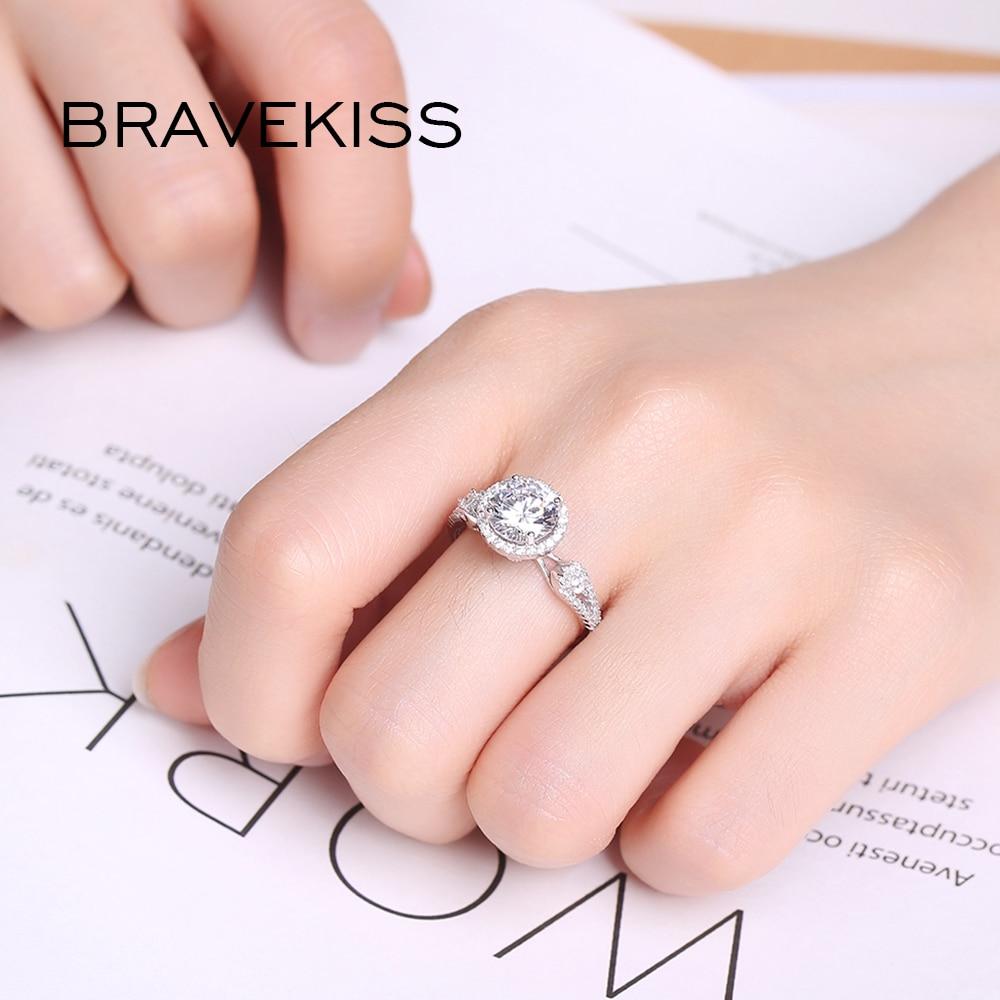 BRAVEKISS Finger Rhinestone Male Ring Inlay Micro Punk Jewelry ...