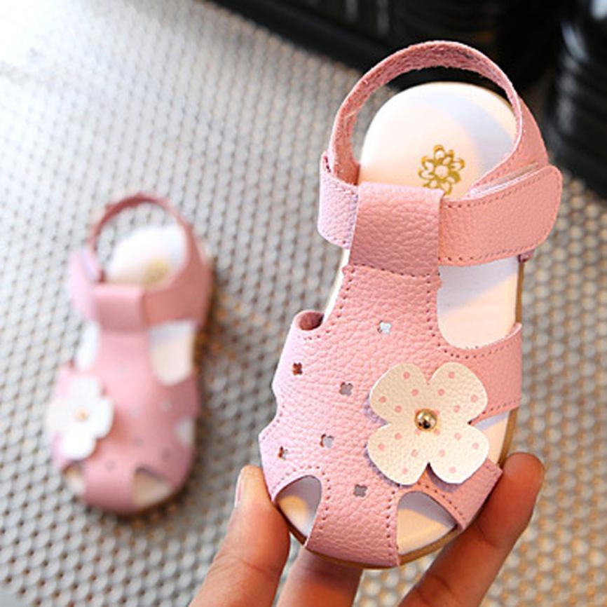 TELOTUNY Baby Kids Fashion Sneaker Children Boys Girls Summer Flower Casual Sandals Shoes V11556TELOTUNY Baby Kids Fashion Sneaker Children Boys Girls Summer Flower Casual Sandals Shoes V11556