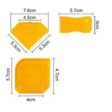 3 шт. герметик скребок силиконовый герметик инструмент для отделки силиконовой лопатки скребок для уплотнителя