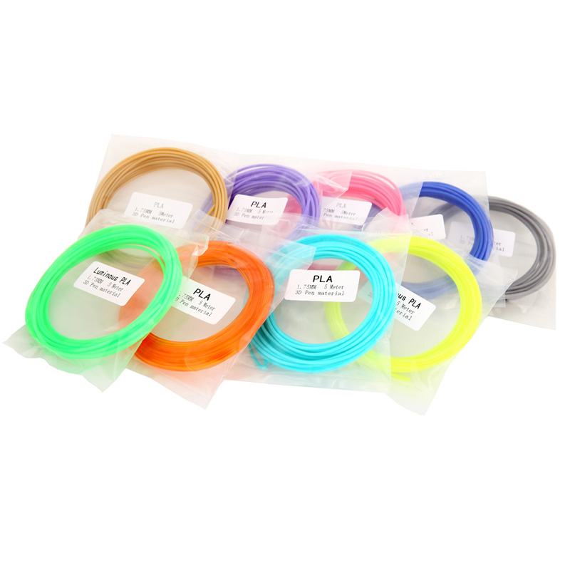 SUNLU PLA 3D Pen printing Filament 20 Colours including 4 Luminouse Light 3D Printer Filaments Consumables
