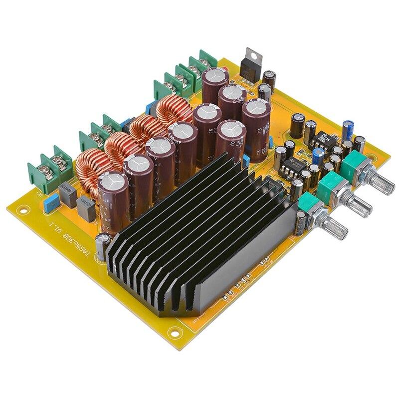 Tas5630 amplificateur de caisson de basses carte Audio classe D 2.1 canaux amplificateurs sonores numériques 150Wx2 + 300W