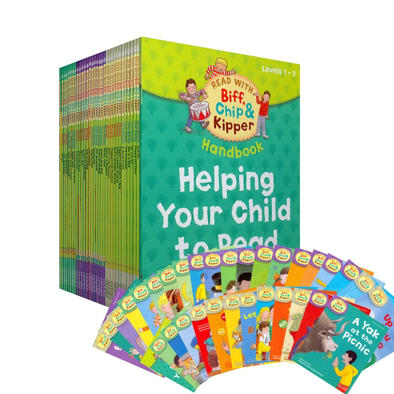 Oxford Reading Tree 1 Set 33 Books 1-3 Level Biff,Chip&Kipper Hand English Phonics Story Picture Book Children Books Education