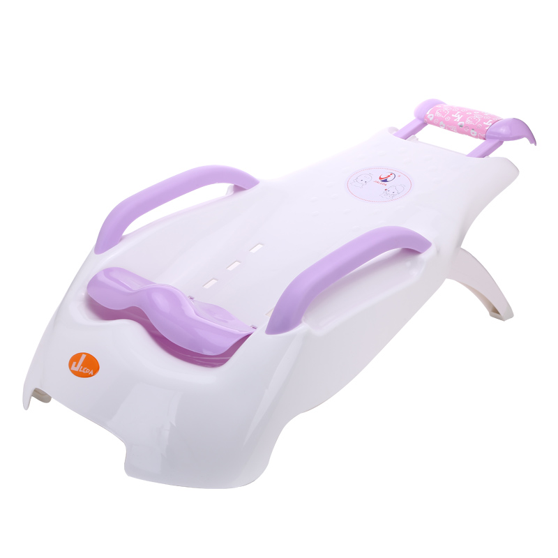 Extra Large Children Shampoo Chair Infant Shower Shampoo Bed Folded Baby Bathroom Washing Chair Seat Children Shampoo Loungers