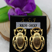 Popular girl lovely animals act the role ofing is tasted birthday party gift wholesale gold-plated earrings with free shipping