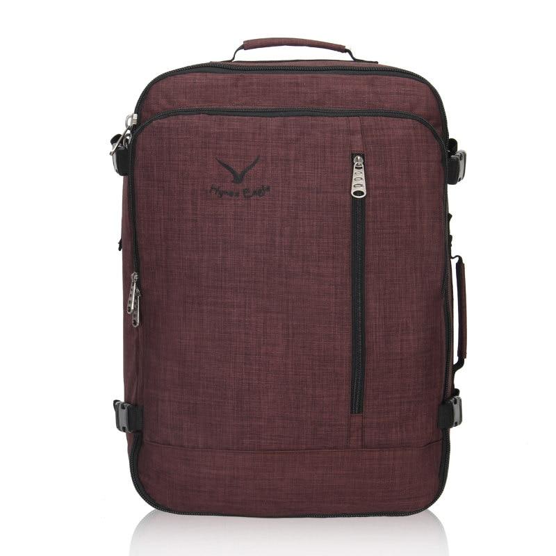 38L Vlucht Goedgekeurd Weekender Handbagage Rugzakken Voor Mannen Vrouwen Mode Vintage Rugzak Reizen Rugzakken Grote Bagage Tas