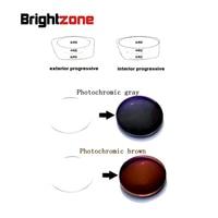1.61 İç Aşamalı Fotokromik Hiçbir Satır CR-39 Bifokal HC UV reçine reçete lensler tek lens yakın görmek & mesafe