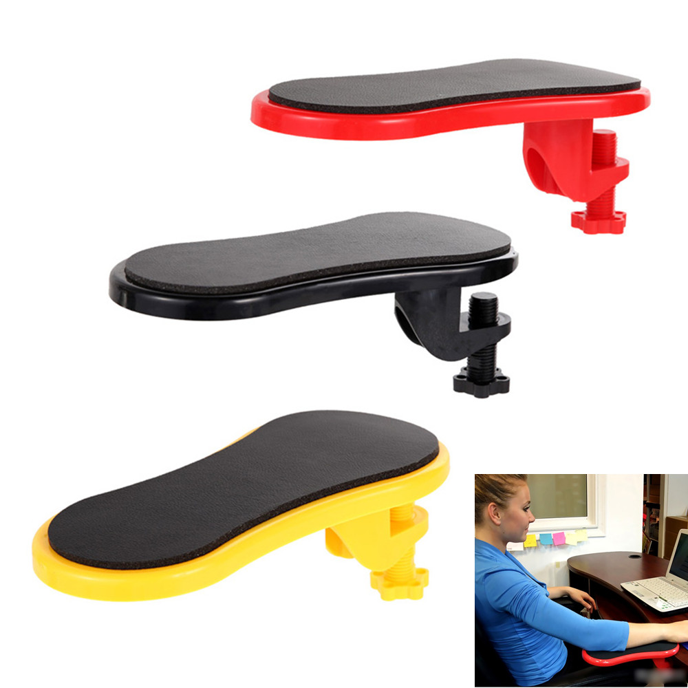 Learned Ig-hand Shoulder Protect Armrest Pad Desk Attachable Computer Table Arm Support Mouse Pads Arm Wrist Rests Chair Extender For Computer Peripherals