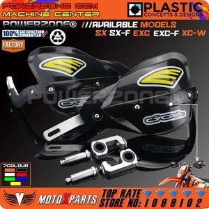 Image 3 - Powerzone Motorfiets Crossmotor ATV Stuur handguards Hand Guards Voor KTM SX SXF EXC XCW EXC F Husqvarna CRF YZF RMZ KXF KLX