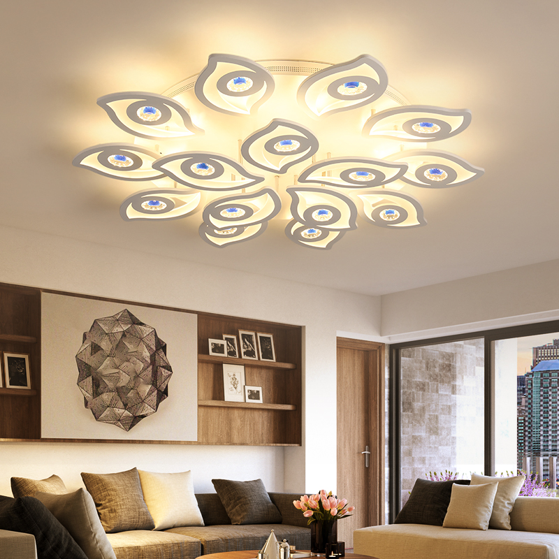 Ceiling Lights Ceiling Lights & Fans Rational Modern Ceiling Lamps Led The Cloud Metal Ironware Acrylic Colorful Iron Light Children Bedroom Indoor Lightings Light Fixture