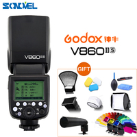 Godox Ving V860II V860II S E TTL HSS 1/8000 Li ion Battery Flash Speedlite for Sony DSLR A7R A7RII A58 A99 A6000 DSLR MIni Shoe