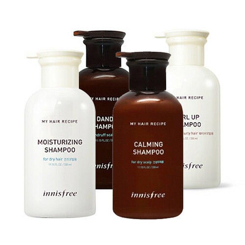 My Hair Recipe Shampoo 330ml Keratin Care Shampoo Hair Growth Anti hair Loss Dandruff Repair Damage Dry Hair Treatment 1pcs