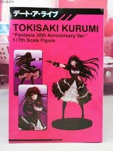 Image 4 - Nova data de chegada um pesadelo ao vivo tokisaki kurumi fantasia 30th aniversário ver. 1/7 escala sexy pvc figura de ação modelo brinquedo 23cm