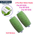 2016 Green Foot care tool roller Heads pedicure herramientas hard roller Heads for 2pcs KIMISKY KY-816/818 Free Shipping