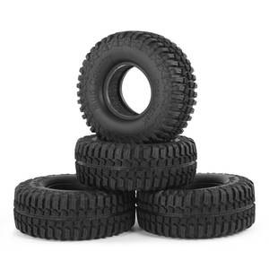 4pcs 3020 1.9inch Rubber Tires Tyre Set for RC4WD D90 CC01 110 RC Rock Crawler Climbing Car Tires