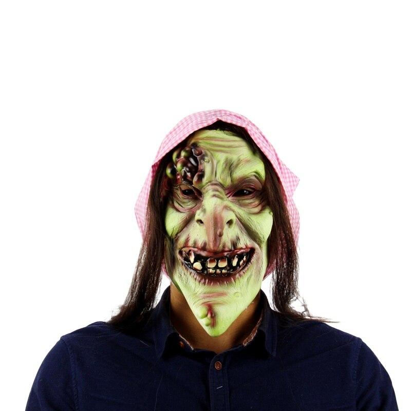 Mascaras De Payaso De Halloween De Silicona De Miedo Zombie Mascara - Mascaras-de-halloween-de-terror