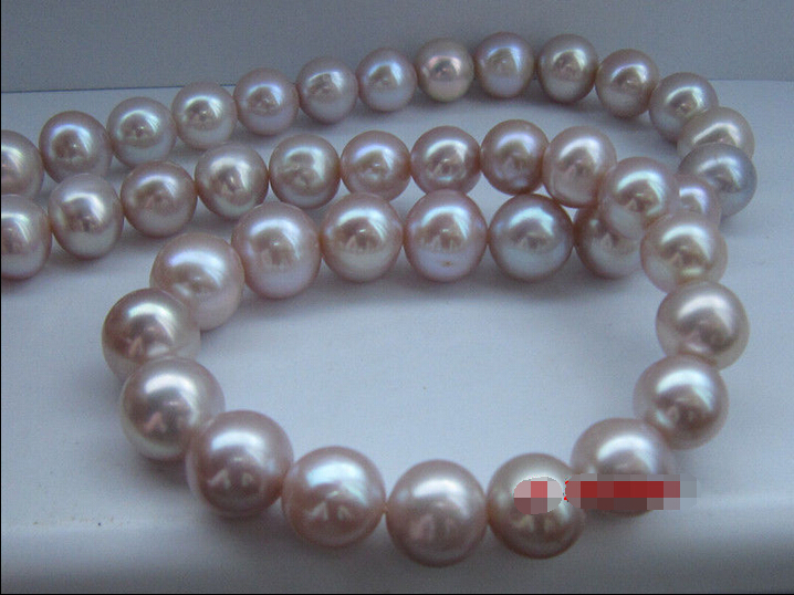 Hot selling> Excellent Luster AAA 9-10 MM Akoya SOUTH SEA PURPLE Pearl Necklace ^^^@^Noble style Natural Fine jewe FREE S -Br цена