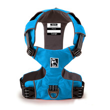 Brand Reflective Pet Dog Harness Training Heavy Vest for Dogs Adjustable Professional K9 Supplies Accessories New