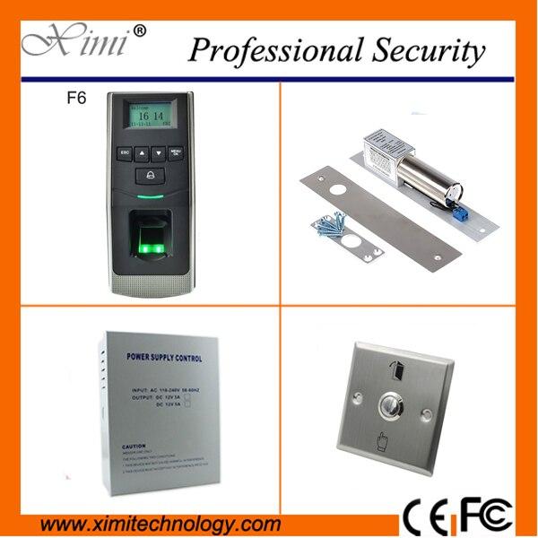 Система Linux бесплатная доставка отпечатков пальцев двери контроля доступа 500 отпечатков пальцев пользователя сети TCP/IP двери контроля досту...