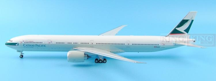 Eagle 200008 Cathay B-KQX Pacific B777-300ER fiftieth 1:200 commercial jetliners plane model hobby