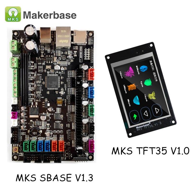 3D Printer Parts MKS SBASE V1 3 Smart Controller Smoothieboard with Smart Control Display MKS TFT35