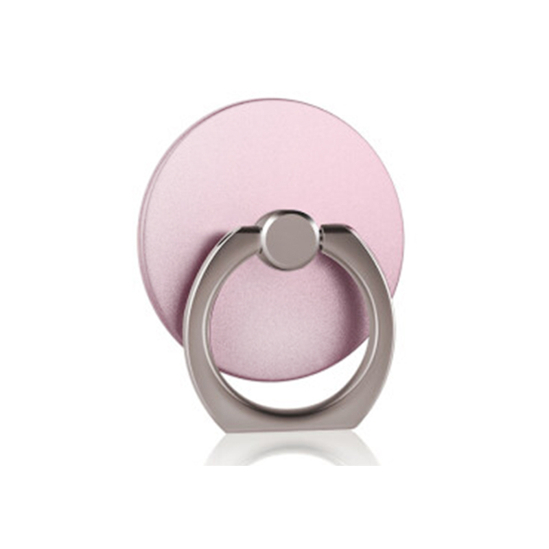 Кольцо-держатель мобильного телефона, подставка, держатель для мобильного телефона для iPhone, huawei, Xiaomi, кольцо-держатель для телефона, автомобильный мобильный телефон, поддержка смартфона - Цвет: rose gold Circle