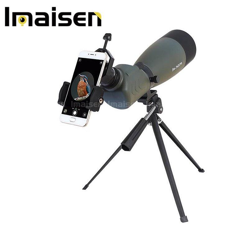 20-75x70 dans l'angle de 45 degrés HD télescope étanche zoom télescope avec BaK4 prisme télescope monoculaire gamme FMC