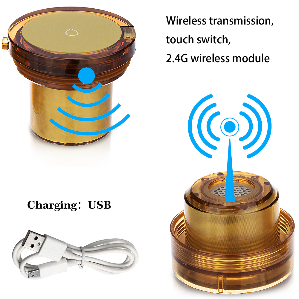 Wireless transmission water Hydrogen generator and MRETO Molecular Resonance Effect Technology H2 water cup USB rechargeable