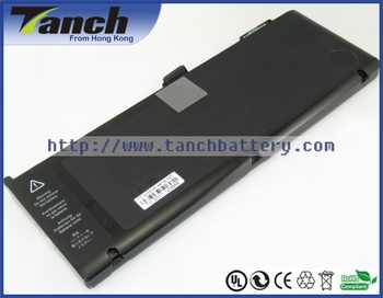 Batterie ordinateur portable pour APPLE A1321 MacBook Pro 15 \ MC118 661-5844 Pro 15 \ MC118LL/A Pro MB986LL/A 10.95 V 6 cellules