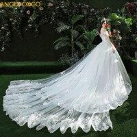 Высокая конец пользовательские свадебное платье для беременных Романтический беременных Для женщин Благородный длинные синие элегантные