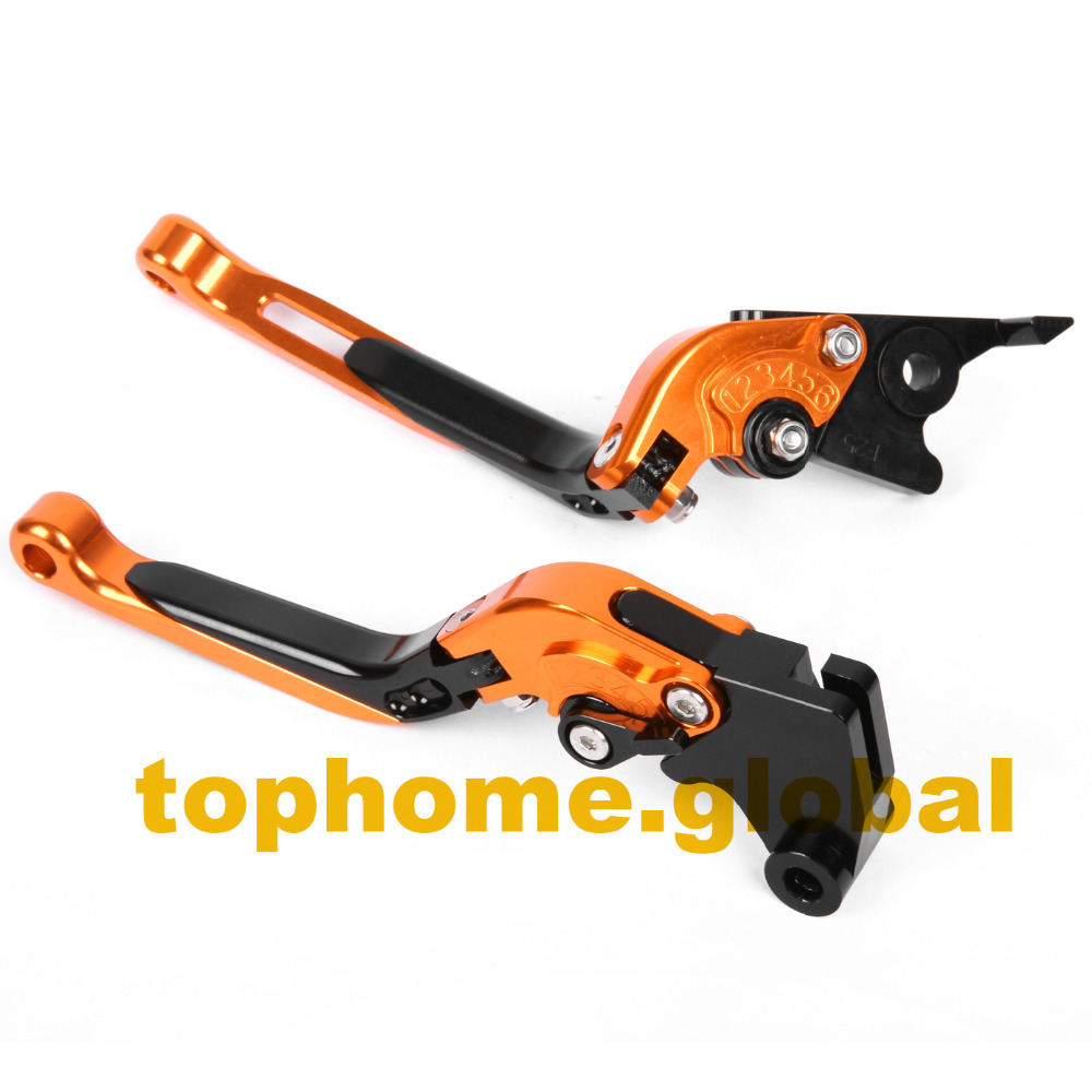 Motorcycle Accessories CNC Folding&Extending Brake Clutch Levers For KTM 950 SM /SUPERMOTO 2007