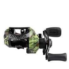 купить Carp Fishing Baitcasting Reel Dual Brake System Reels Left and right hand Bait Casting Reel 7.0:1 High Speed Fishing wheel дешево