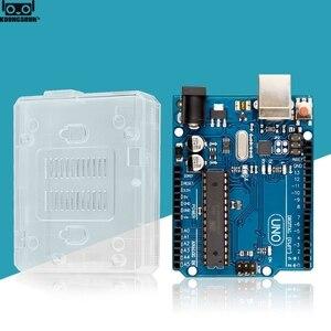 Image 3 - UNO R3 resmi kutusu ATMEGA16U2 + MEGA328P çip Arduino UNO için R3 geliştirme kurulu