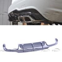 Original Estilo Tras W204 C63 Diffuer Lip Splitter para Mercedes Benz AMG 2012 2014|Amortecedores| |  -