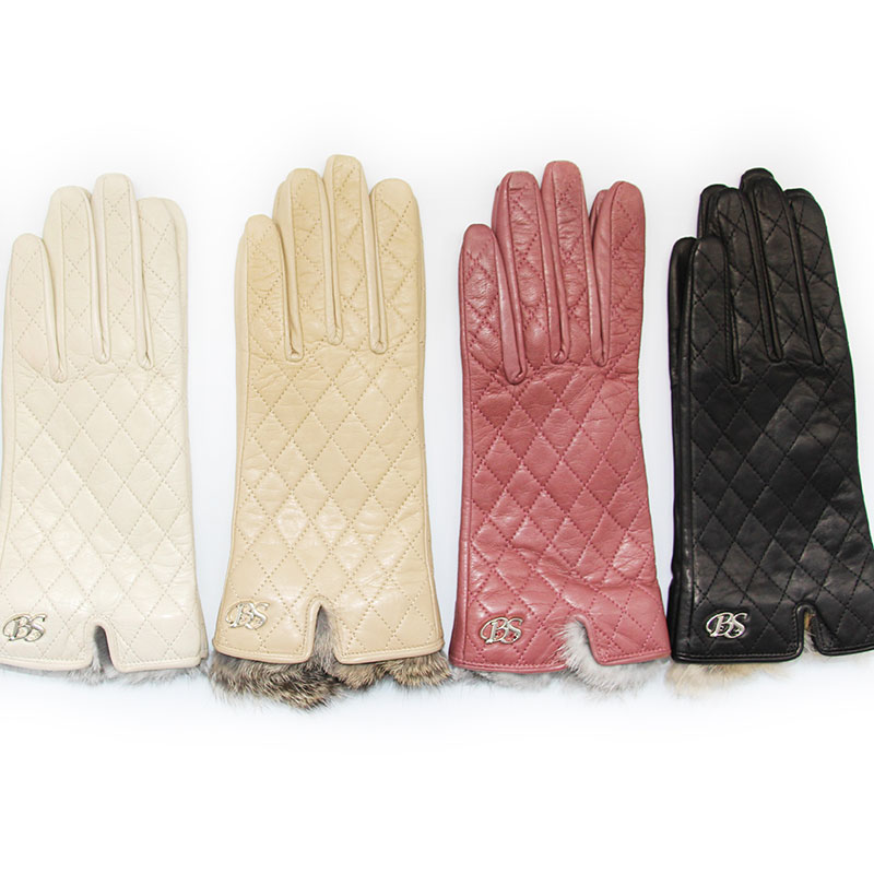 2018  women/'s genuine leather gloves  sheepskin gloves  fashion female windproof