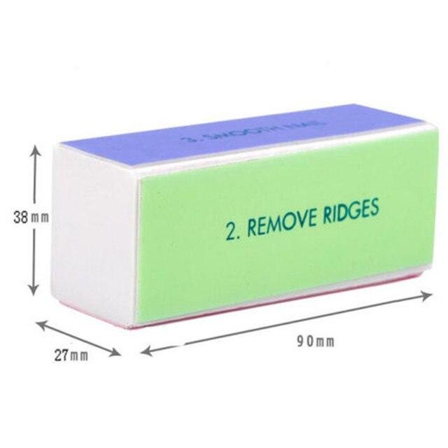 Elite99 6 teile/los Nail art Datei Durable Polieren Grit Sand Block Für Maniküre Natürliche Nagel Schwämme Nagel Kunst Datei Nagel puffer