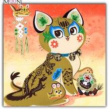 MOONCRESIN Diy Diamond Painting Cross Stitch Totoro Animals Mosaic Full Round & Square Embroidery Decoration Kit