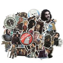 61pcs Movie Game of Thrones Suitcase Decal Sticker Cartoon DIY Scrapbook Craft Decor cosplay prop(China)