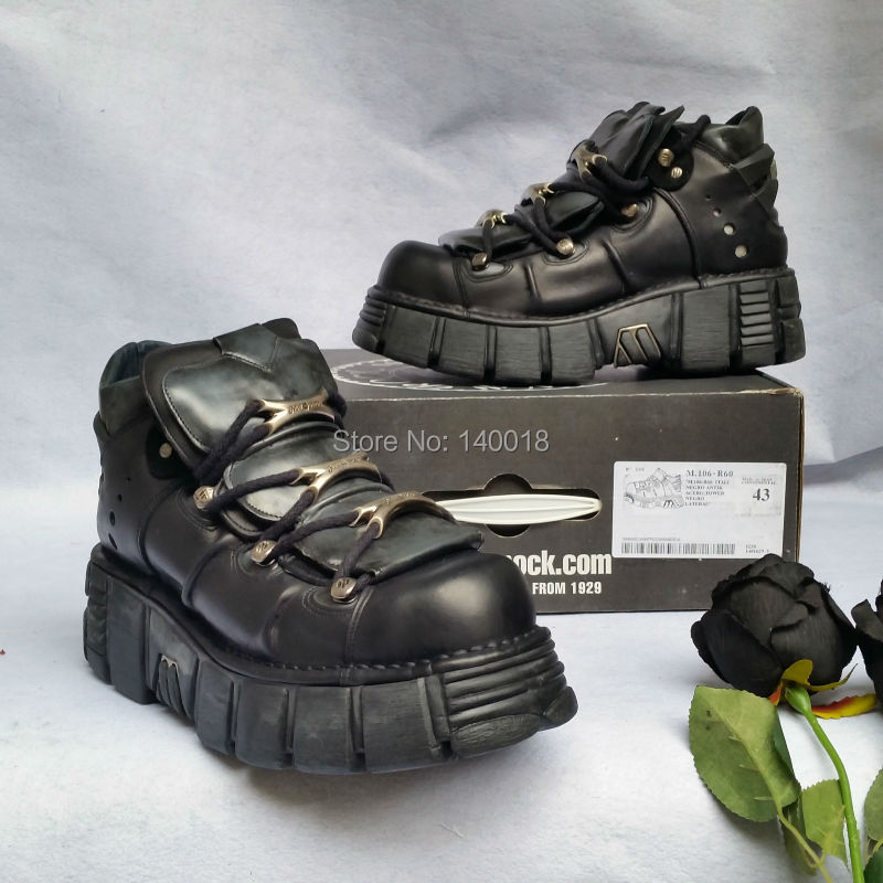 Ship From Us Spain New Rock Boots M 106 R60 Metalhead