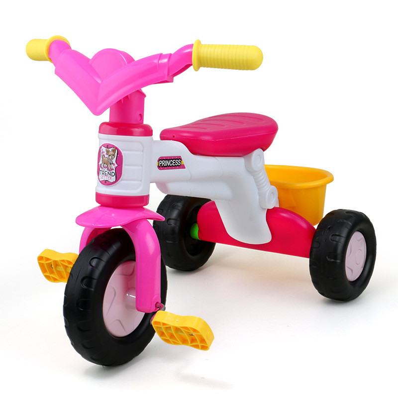 Ride On Cars Cartoon Kids Tricycle Music Bikes Baby Walkers Baby Stroller Children's Outdoor Activity Riding Bicycles Toys