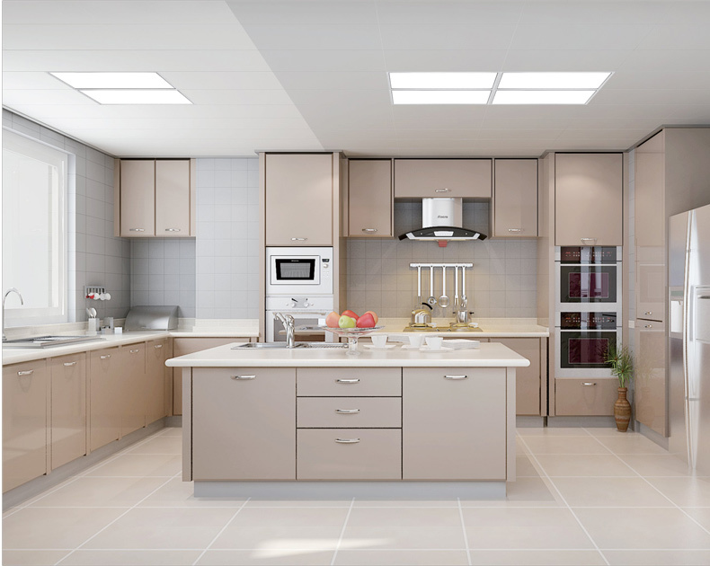 Led Panel Light Kitchen Integrated Ceiling Lighting Embedded Lvkou Ban Lamp In Lights From On