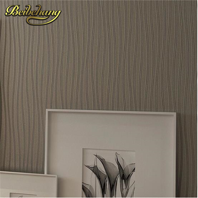 beibehang stunning design lines stripe pvc mural wall paper vinyl home decor  3D wallpaper roll design effect papel de parede