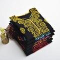 Ropa Nuevos Modelos de Explosión de Las Mujeres africanas De Tailandia, la india, Nepal Y África Nacionales Viento Camisa de Algodón Bordado de Prendas de vestir