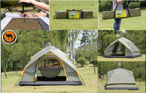 Camel Outdoor Hiking Professional 2 People 4-Season Family Cabin Tent & Camel Outdoor Hiking Professional 2 People 4 Season Family Cabin ...