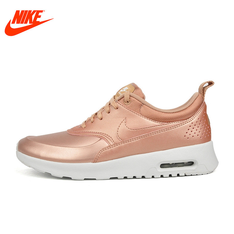 Original NIKE Leather-made Waterproof W AIR MAX THEA SE Women's Running Shoes Sneakers Outdoor Walking Sneaker original nike leather waterproof air max women s running shoes sneakers