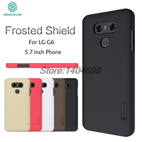 SFor LG G6 Case Nillkin Frosted Shield Hard Armor PC Back Cover Case For LG G6