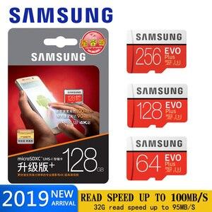 Image 1 - SAMSUNG micro sd Speicher Karte 128GB EVO plus U3 512GB 256GB 64gb Class10 micro sd Karte 32GB microSD UHS I sd/TF Karte für telefon