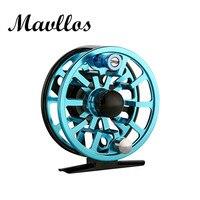 Mavllos Brand Fishing Reel CNC Machine Aluminum Frame Fly Fishing Reels 3 Stainless Steel Bearings 3