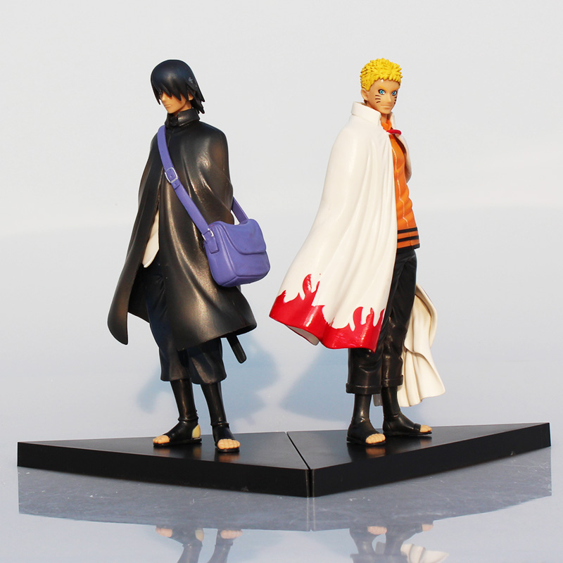 2pcs/set Naruto Action Figure 17cm Japan Anime Cartoon Naruto Uzumaki PVC Action Figure Children Toys & Hobbies 1