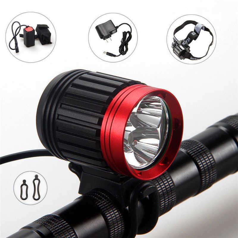 10000LM led flashlight Rechargeable Bike Bicycle 3x XML T6 LED Front Head Light Headlamp lanterna led bike fanatic #3S20 sitemap 35 xml