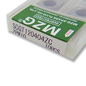 Image 5 - MZG SCGT 120404Z ZPW10 Chato Transformando Pastilhas De Metal Duro de Corte Torno CNC para o Processamento de Alumínio Toolholders SSBCR